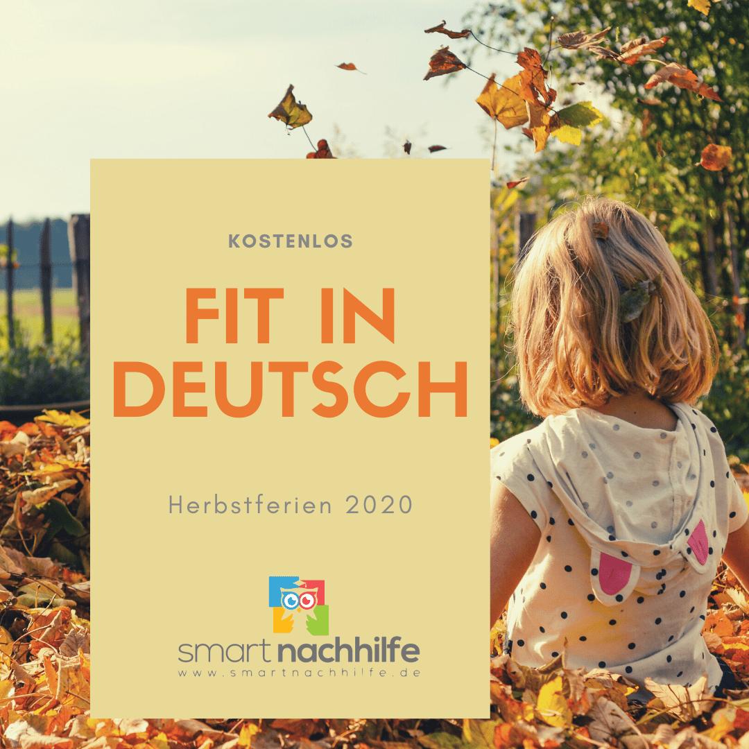 Fit in Deutsch Herbstferien 2020